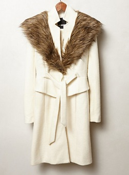 Anthropologie Montaigne Coat