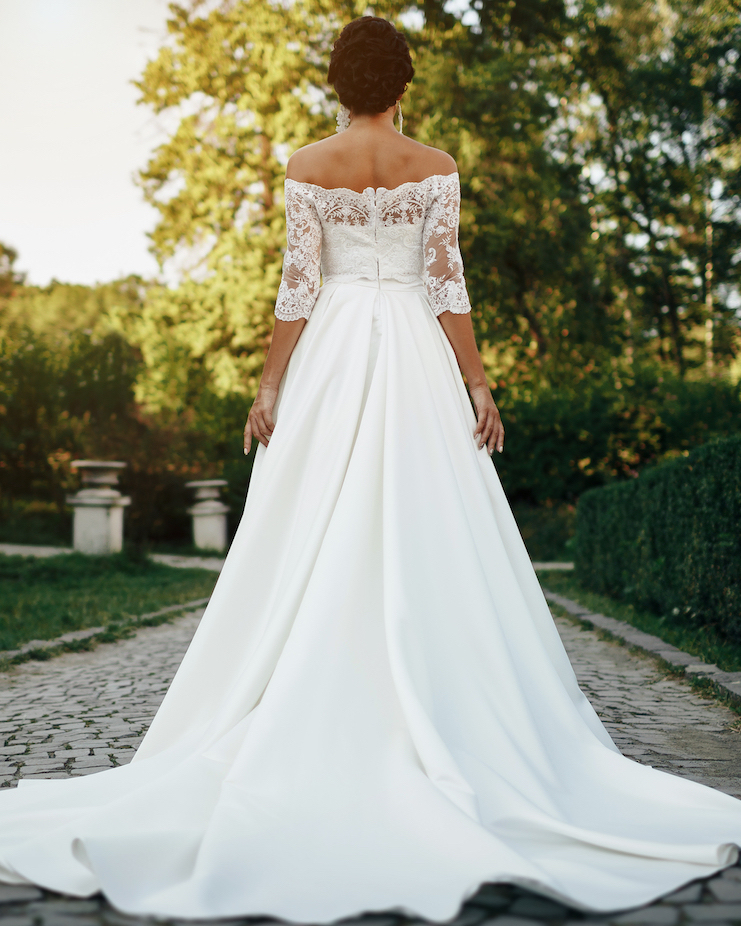 Wedding dress preservation services in Toronto offered by Parker's Dry Cleaners.